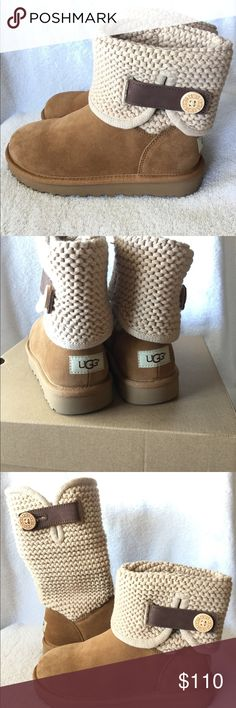New UGG Australia Boots for Women's New UGG Australia color Chestnut UGG AUSTRALIA Shoes Winter & Rain Boots