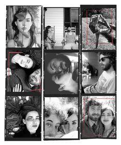 Contact Sheet Art Tropicolor Couple 120 Film Contact Sheet, 120 Film, Photo Art, Couples, Couple