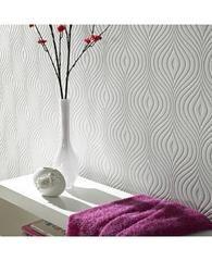 Curvy Paintable Wallpaper