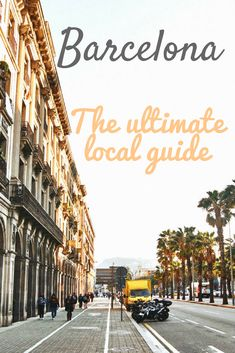 The ultimate local guide to Barcelona. Cataluñas capital has so much more to offer than Sagrada Familia, Park Guell or other Gaudi architecture. Check out the many local things to do like viewpoints, food markets or relaxing at the beach. Portugal Travel, Spain And Portugal, Spain Travel, Places To Travel, Places To See, Travel Destinations, Travel Tips, Travel Goals, Travel Guides