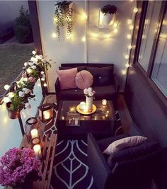 59 Creative little balcony decor for the best spring ideas . 59 Creative little balcony decor for the best spring ideas Garden Garden apartment Small Balcony Design, Small Balcony Garden, Small Balcony Decor, Outdoor Balcony, Small Patio, Outdoor Decor, Balcony Ideas, Outdoor Lighting, Balcony House