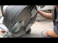 Шлифовка и полировка бетонных и каменных полов машинами GROST
