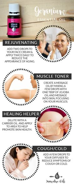 BENEFITS AND USES FOR GERANIUM ESSENTIAL OIL