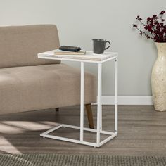 Furniture, Laptop Desk, Find Furniture, Table, Indoor Patio Furniture, White C, Acacia Wood, Buying A New Home, C Table