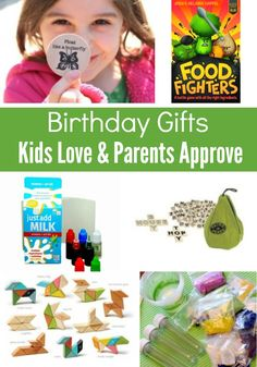 It's hard to find birthday gifts kids love AND parents approve so here's a foolproof list sure to please both