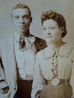 "Antique CDV Photograph Handsome Black Couple 1890s H Mancel Pensacola FL | eBay -- Featuring a young, well dressed African American couple.  Taken in studio by H. MANCEL, PENSACOLA, FL., it is marked in gold lettering ""THE LITTLE HOUSE AROUND THE CORNER"" - guessing this is the name or catch phrase of the studio."