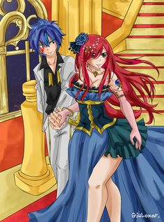 Just trash doodles and fluffy dreams : Photo Fairy Tail Family, Fairy Tail Girls, Fairy Tail Art, Fairy Tail Couples, Fairy Tail Ships, Fairy Tales, Fairy Tail Photos, Jellal And Erza, Fariy Tail
