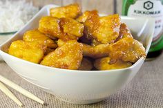 Skinny Sweet and Sour Chicken - 12 POINTS (which includes 1/2c white rice with each serving)