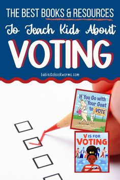 Teach kids about the election with these resources and kid's books about voting!