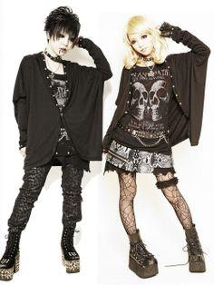 Visual kei / goshikku gyaru Love the girl