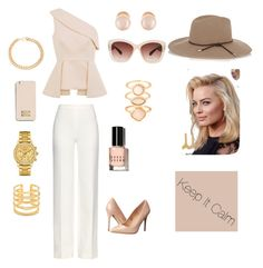 """""""Luxurious and classic """" by ll01052002 on Polyvore featuring C/MEO COLLECTIVE, Diane Von Furstenberg, Madden Girl, Eloquii, MICHAEL Michael Kors, Kenneth Jay Lane, Monsoon, Lacoste, Stella & Dot and Alessandra Rich"""
