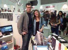 Papucci con Valeria Franci fotografa