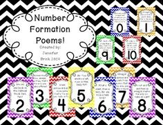 Letter formation poems letter formation students and help teaching number formation poems 0 10 spiritdancerdesigns Image collections