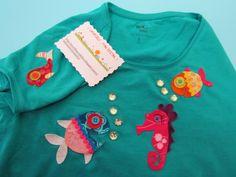 Camiseta- fondo marino