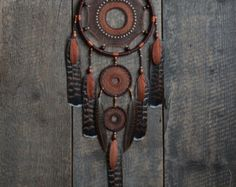 Traumfänger / Dreamcatcher/Brown dream Catcher/Neurtal Dreamcatcher/Dream Catcher Dekor/Gift