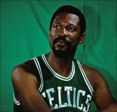 Bill Russell Boston Celtics Wilt Chamberlain Los Angeles Lakers