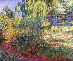 1900 Claude Monet Sentiero lungo lo stagno delle ninfee(collezione privata)