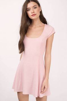 89eaa85f52 You ll fall in love with the Rose Short Sleeve Skater Dress. Featuring an