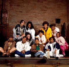 Top Row - Left To Right: Sparky D, Sweet Tee, Yvette Money, Ms. Melodie. Middle row: Millie Jackson, Peaches, Sparky D dancer. Bottom row: Sparky D dancer, Roxanne Shanté, MC Lyte, Synquis, 1988. Photograph by Janette Beckman.