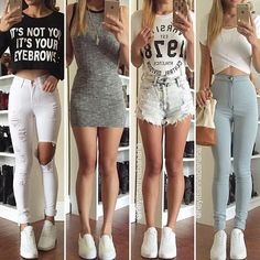 Cute Comfy Outfits, Girly Outfits, Dope Outfits, Casual Summer Outfits, Fashion Outfits, Womens Fashion, Love Clothing, Clothing Items, Back To School Outfits