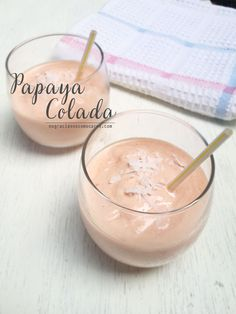 Smoothie de papaya colada