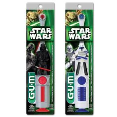 GUM® Star Wars™ Power Toothbrush - Darth Vader - Official Site for GUM® Toothbrushes