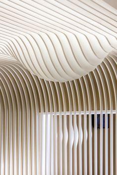 BAKERY by Paulo Merlini Arquitectura, Gondomar – Portugal Interior Ceiling Design, Shop Interior Design, Retail Design, Store Design, Blog Design Inspiration, Interior Inspiration, Architecture Details, Interior Architecture, Ceiling Materials