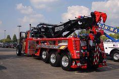 "Ernie's Wrecker Service, Vernon Hills IL - Peterbilt 378 w/ Century 75 ton rotator (""Showtime"")"