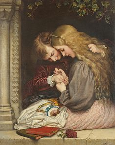 "Charles West Cope (1811-1890), ""The thorn"""