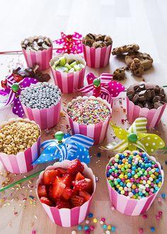 Kindergeburtstag  Essen Süßes