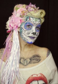 Sugar Skull ~Hope Shots Photography Makeup: Unique Facing