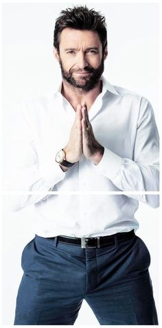 Hugh Jackman....now this is what i call a man..wow