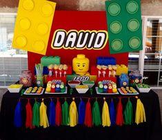Lego dessert table