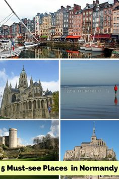 5 must see places in Normandy, France | Eco-Gites of Lenault