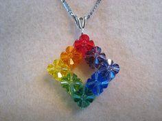 Classy Rainbow Wedding Jewellery