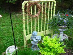 a babycrib / garden now ....
