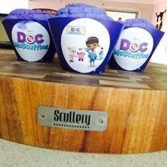 Doc McStuffins muffin cups