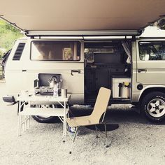 London home for the next few days #Volkswagen #vw #vwt25 #vwt3 #vanagon #westy…
