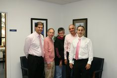"Pink Day!  In recognition of National Breast Cancer Awareness Month, Ashcroft declared Wednesday, 10/13 as ""Putting on the Pink Day,"" making a donation to the American Cancer Society for every employee who wore pink."