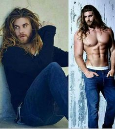 Brock Ohurn, Hair And Beard Styles, Long Hair Styles, Attractive Men, Good Looking Men, Male Beauty, Bearded Men, Cute Guys, Gorgeous Men