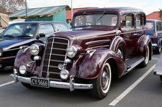 1934 Oldsmobile 8 sedan.