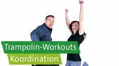 Trampolin-Workouts mit Prof. Ingo Froböse und Vanessa Blumenthal: Koordination