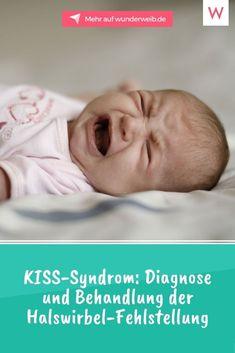 Das KISS-Syndrom gehört zu den umstrittensten Diagnosen bei Säuglingen. Die Kopfgelenk-induzierte-Symmetrie-Störung, kurz KISS, soll die Ursache vieler Entwicklungsstörungen bei Kindern sein. #baby #gesundheit #mutter #kinderkrankheit Baby, Cervical Vertebrae, Health, Life, Babys, Baby Humor, Baby Baby, Babies, Infants
