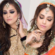 Mehndi and Valima look @reminiscenthairandmAkeup