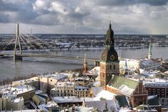 29 Places You HAVE To Visit In 2014 #refinery29  http://www.refinery29.com/61462#slide13  Riga, Latvia The next Prague? The formerly under-the-radar city of Riga has all the ingredients that have made Prague so irresistible — romantic architecture, rich history, reasonable prices, and charm galore. There are medieval houses, more Art Nouveau buildings than any other city (800+), and centuries-old cobblestone streets. This year, the city steps out of the shadows as an E.U.-designated Capital…
