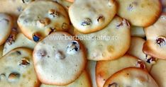 Cookie Recipes, Vegan Recipes, Vegan Food, Romanian Food, Raisin Cookies, Cooking Instructions, Homemade Cakes, Food And Drink, Yummy Food