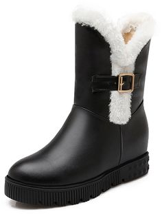 YE Women's Platform Wedge Height Increasing High Top Waterproof Winter Snow Boots * Want to know more, click on the image.