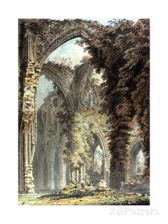 Thomas Girtin (c.1793) Tintern Abbey.