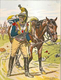 Corazziere del 10 rgt. corazzieri francesi