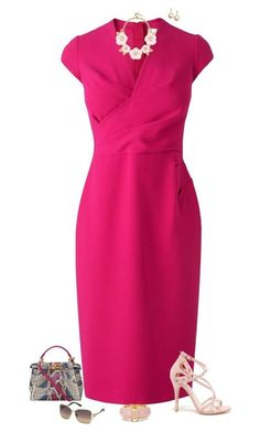 Elegantes ideas de outfits - vestidos con falda de tubo...